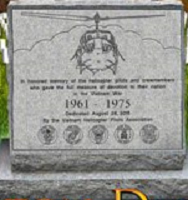 Vietnam Helicopter Pilot amd Crew Members Memorial